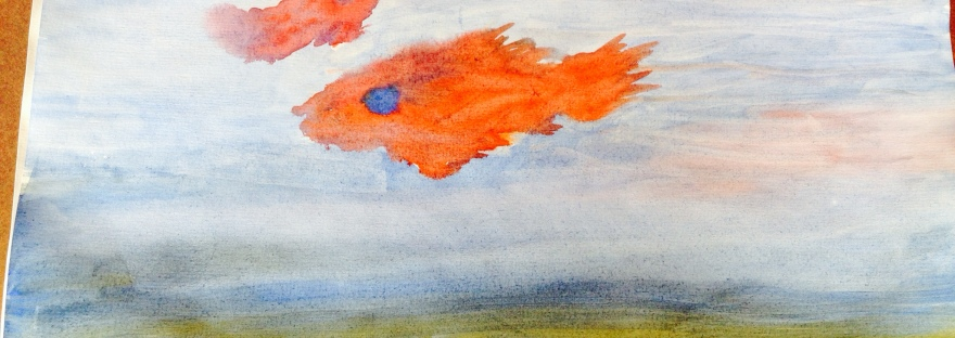 Painting of Sea Creatures